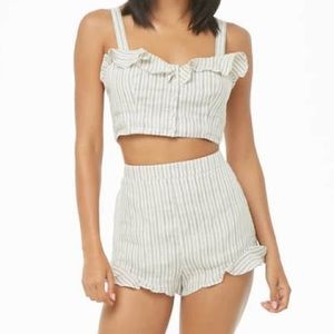 forever 21 two piece set brand new